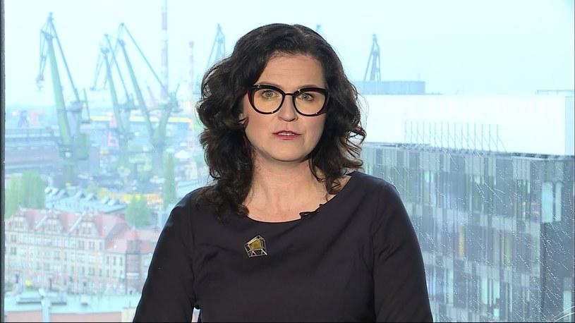 Prezydent Gdańska Aleksandra Dulkiewicz. /Polsat News /