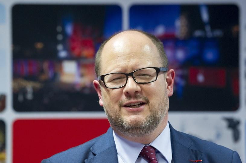 Prezydent Gdańska Paweł Adamowicz /Wojciech Strozyk/REPORTER /Reporter