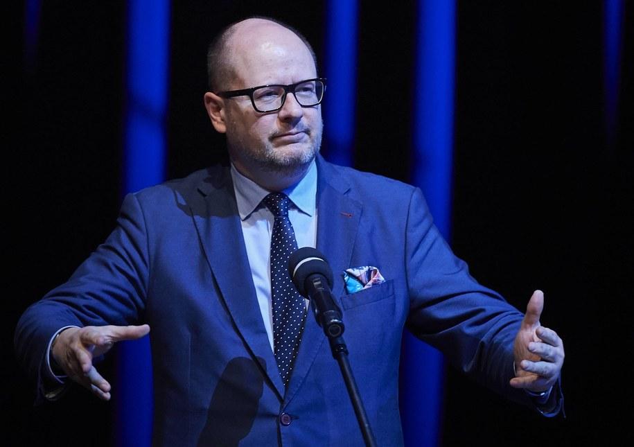 Prezydent Gdańska Paweł Adamowicz / Adam Warżawa    /PAP