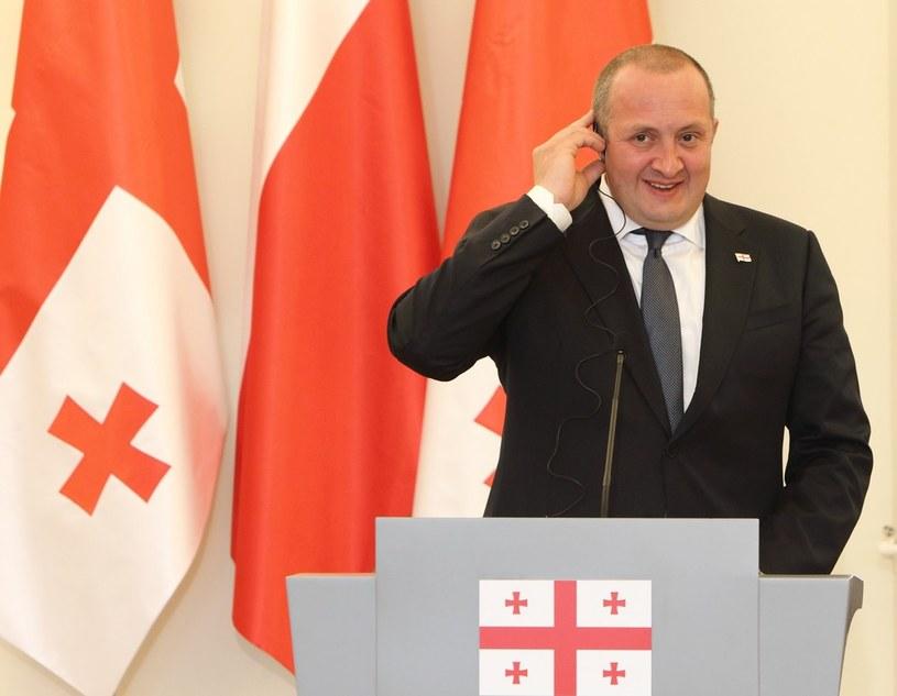 Prezydent Gruzji Giorgi Margwelaszwili /Stanisław Kowalczuk /East News