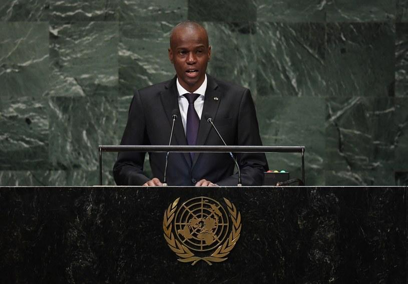Prezydent Haiti Jovenel Moise /TIMOTHY A. CLARY /AFP