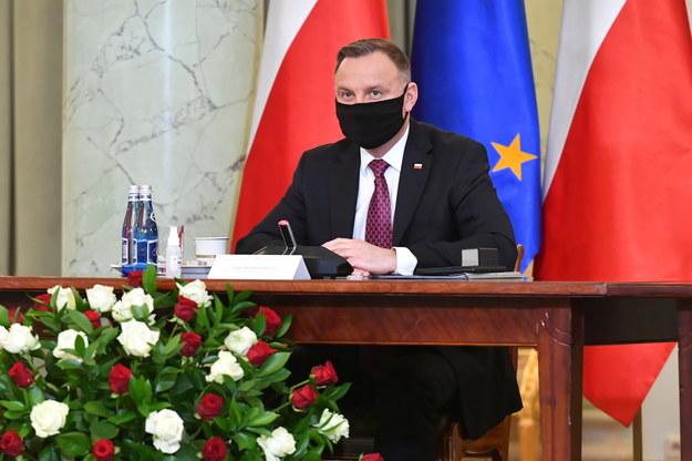 Prezydent i Pierwsza Dama zaszczepieni przeciw Covid-19
