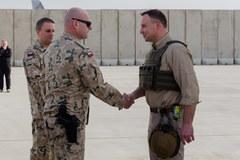 Prezydent i szef MON odwiedzili polskich żołnierzy w Afganistanie