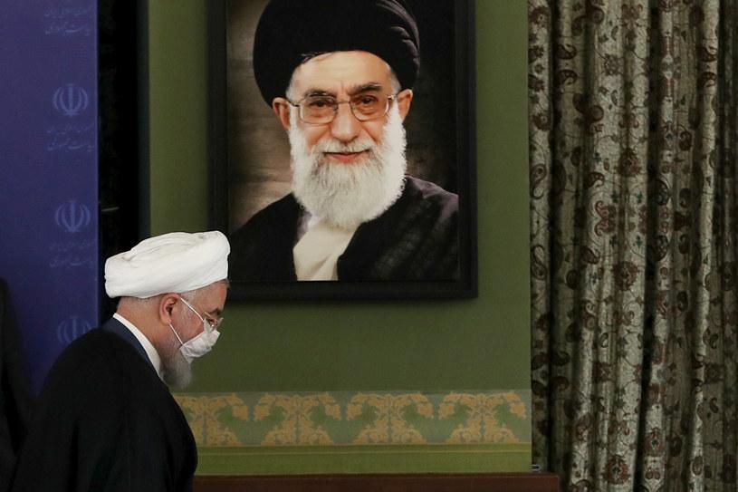 Prezydent Iraku Hasan Rowhani /Iranian Presidency / Handout/Anadolu Agency /Getty Images