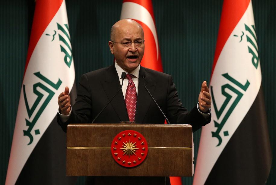 Prezydent Iraku odmówił desygnowania premiera / STR   /PAP/EPA
