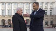 Prezydent Iraku w Polsce. Andrzej Duda: Wielkie uznanie dla irackiej armii