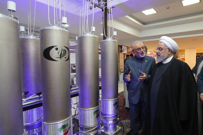 Prezydent Iranu Hasan Rouhani /IRANIAN PRESIDENCY OFFICE  /PAP/EPA