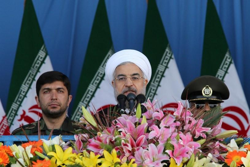 Prezydent Iranu Hasan Rowhani. /AFP