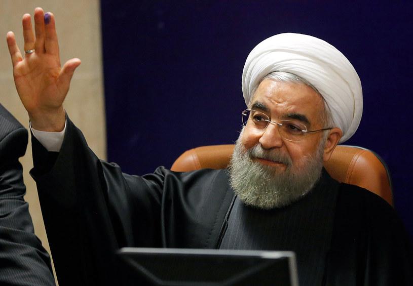 Prezydent Iranu Hasan Rowhani /AFP