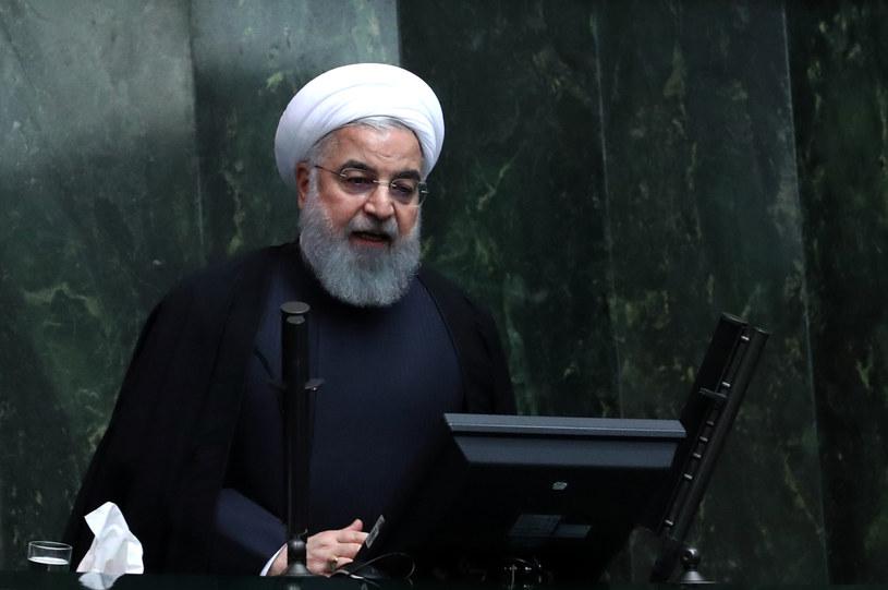 Prezydent Iranu Hasan Rowhani / STR   /AFP