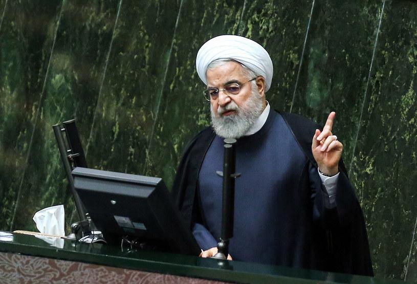 Prezydent Iranu Hassan Rowhani /AFP