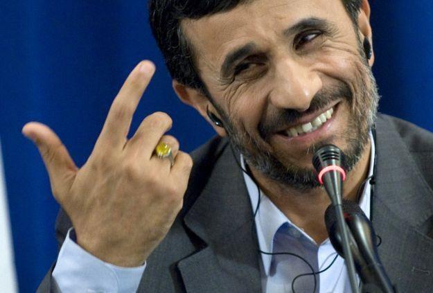 Prezydent Iranu Mahmud Ahmadineżad /AFP