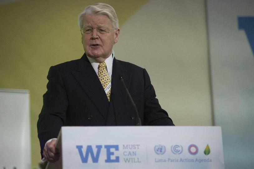 Prezydent Islandii Olafur Ragnar Grimsson /AFP
