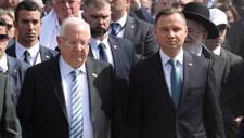 """Prezydent Izraela mówił o """"Polakach pomagających w eksterminacji""""? Andrzej Duda zaprzecza"""