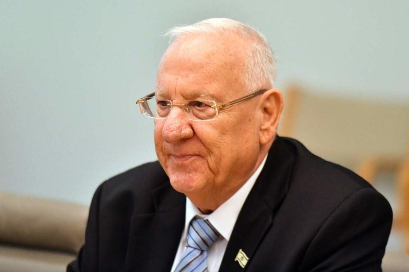 Prezydent Izraela Reuven Rivlin /MICK TSIKAS /AFP