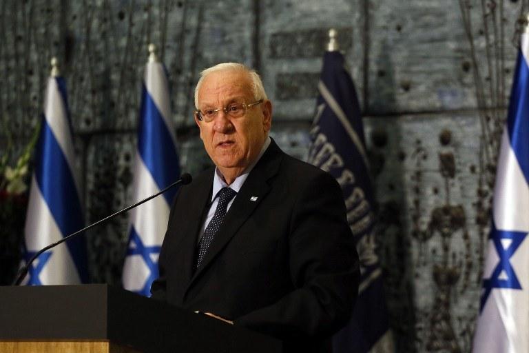 Prezydent Izraela Reuwen Riwlin /AFP