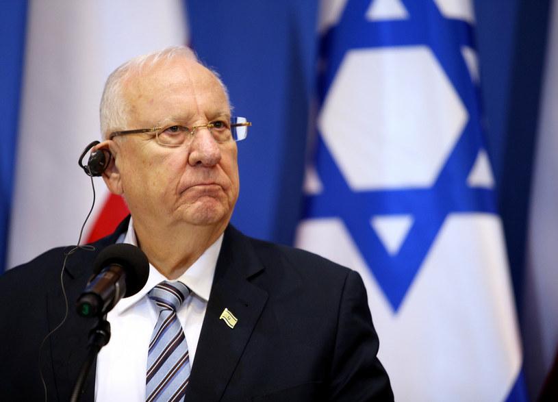 Prezydent Izraela Reuwen Riwlin /Damian Klamka/East News /East News