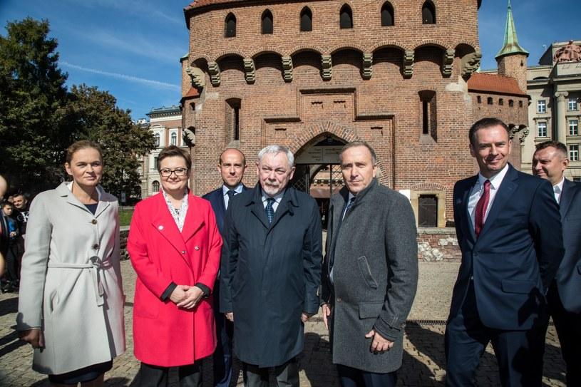 Prezydent Jacek Majchrowski jest popierany przez Koalicję Obywatelską /Jan Graczyński /East News