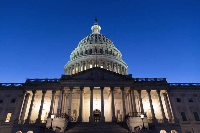 Prezydent Joe Biden rozmawiał z politykami własnej partii /PAP/EPA/Michael Reynolds /PAP