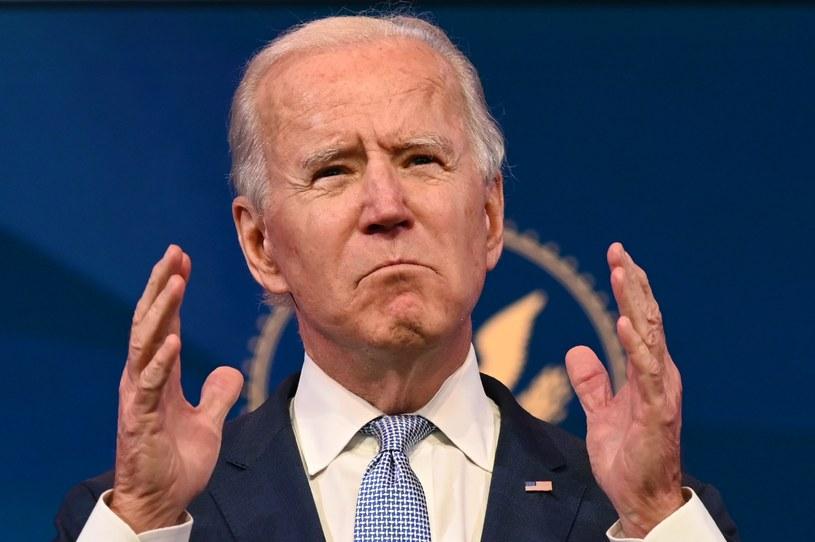 Prezydent Joe Biden /AFP