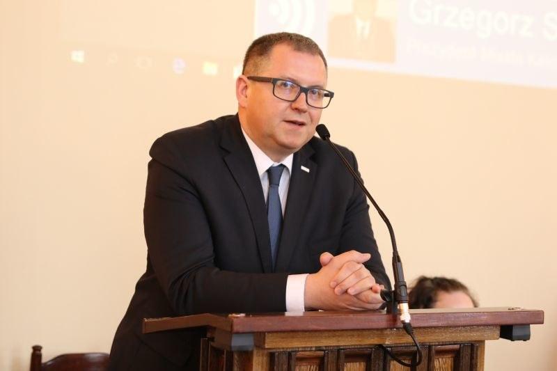 Prezydent Kalisza Grzegorz Sapiński /UM Kalisz/www.kalisz.pl /