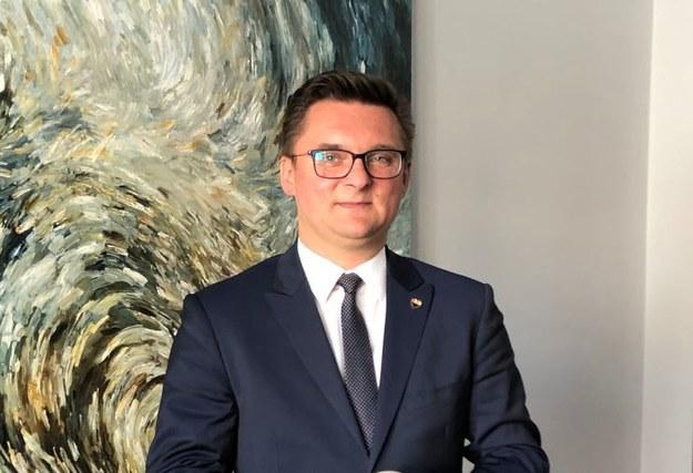 Prezydent Katowic Marcin Krupa zasłabł podczas sesji Rady Miasta /Anna Kropaczek /RMF FM