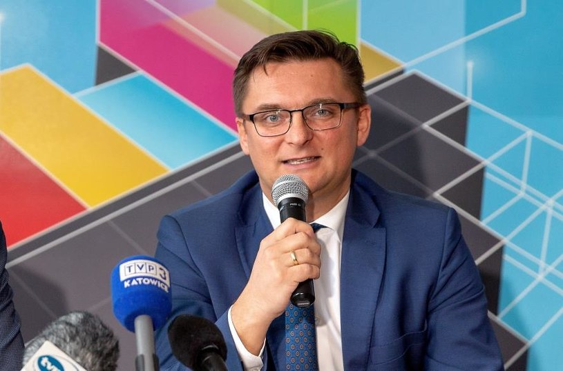 Prezydent Katowic Marcin Krupa / Andrzej Grygiel /PAP