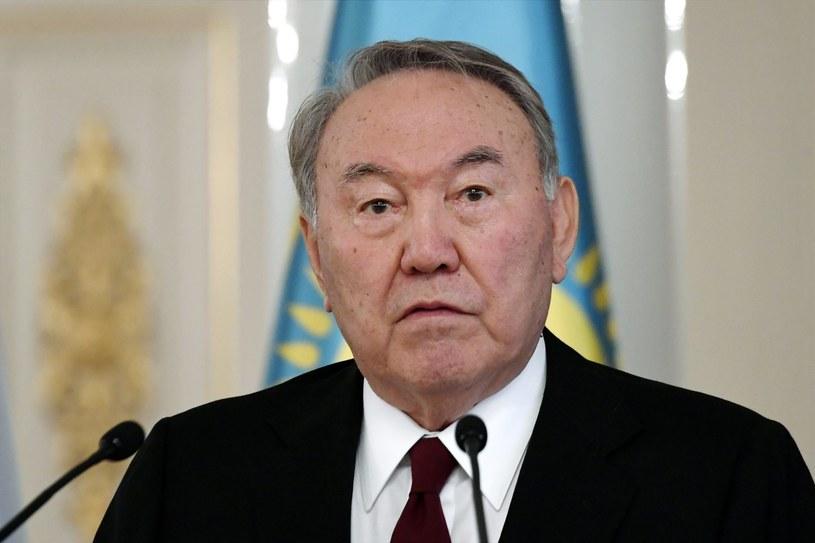 Prezydent Kazachstanu Nursułtan Nazarbajew /Lehtikuva MARKKU ULANDER/ms /AFP