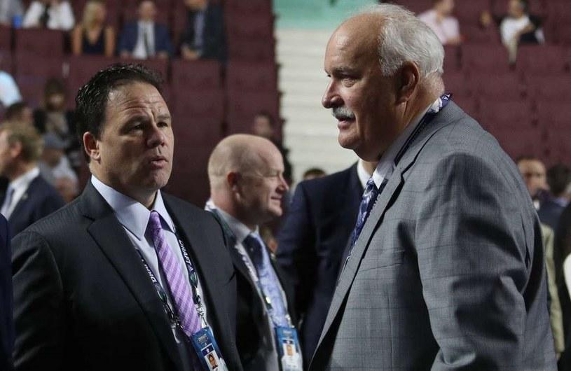 Prezydent klubu John Davidson (z prawej) i generalny menedżer Jeff Gorton zostali odwołani /AFP