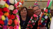 Prezydent Komorowski wziął udział w obchodach Niedzieli Palmowej