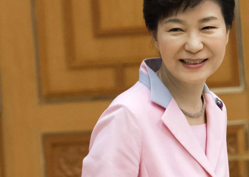 Prezydent Korei Płd. Park Geun Hie /SAUL LOEB /AFP