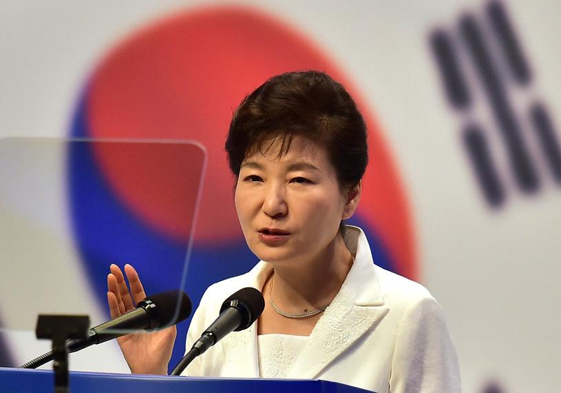Prezydent Korei Płd. Park Geun Hie /PAP/EPA