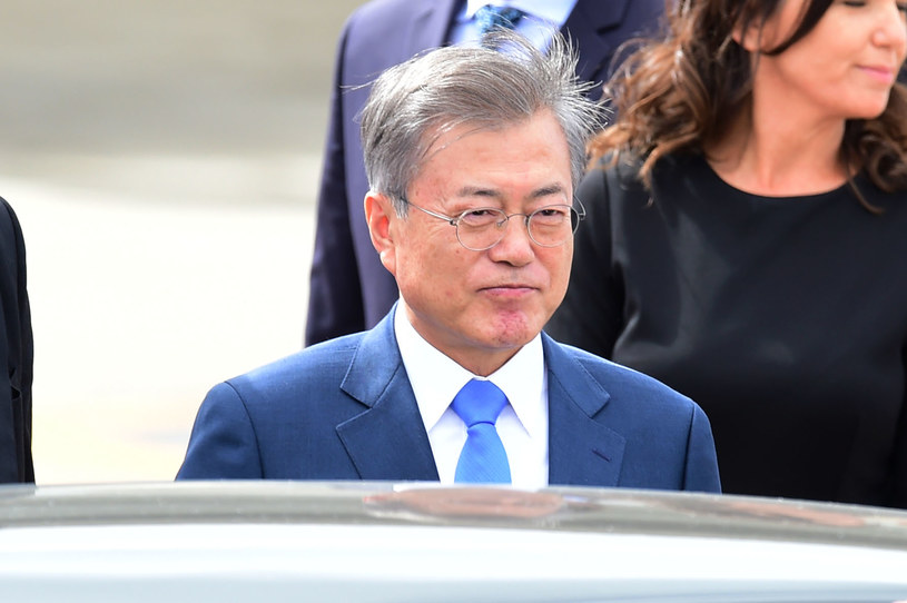 Prezydent Korei Południowej Mun Dze In /MARTIN BERNETTI / AFP /AFP