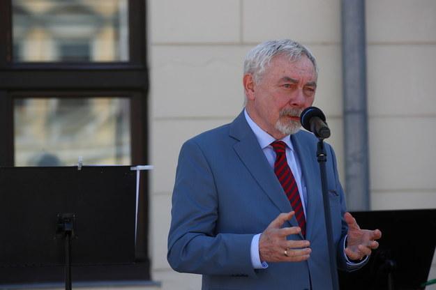 Prezydent Krakowa Jacek Majchrowski trafił do szpitala