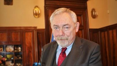 Prezydent Krakowa Jacek Majchrowski został ukarany mandatem /Jacek Skóra /RMF FM