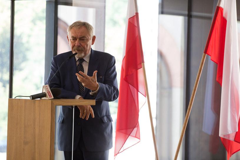 Prezydent Krakowa Jacek Majchrowski /Jakub Porzycki /Agencja FORUM