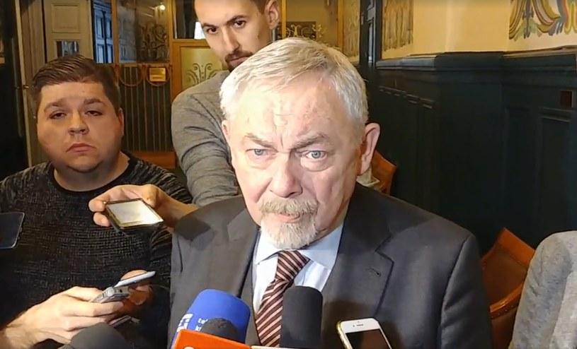 Prezydent Krakowa Jacek Majchrowski /INTERIA.TV