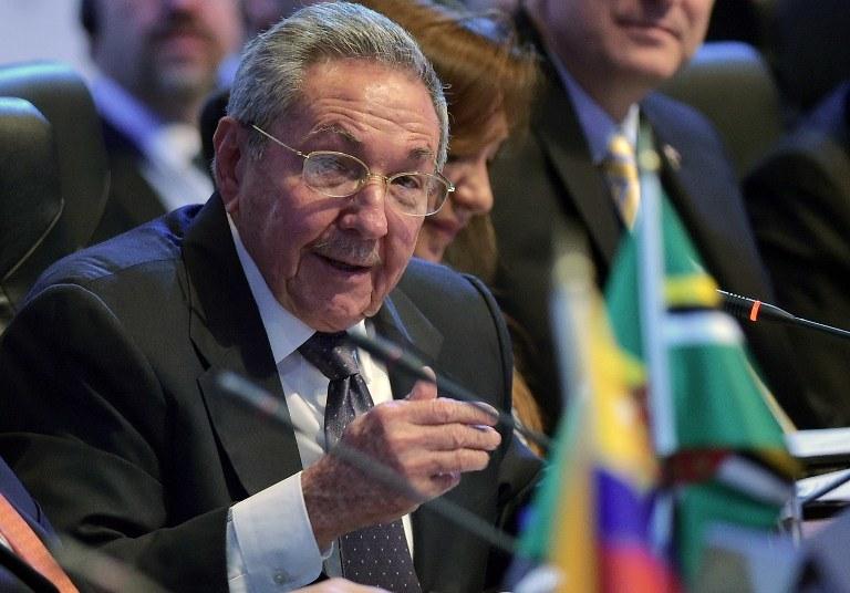 Prezydent Kuby Raul Castro /MANDEL NGAN /AFP