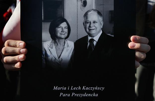 Prezydent Lech Kaczyński i jego żona, Maria zginęli w katastrofie smoleńskiej /AFP