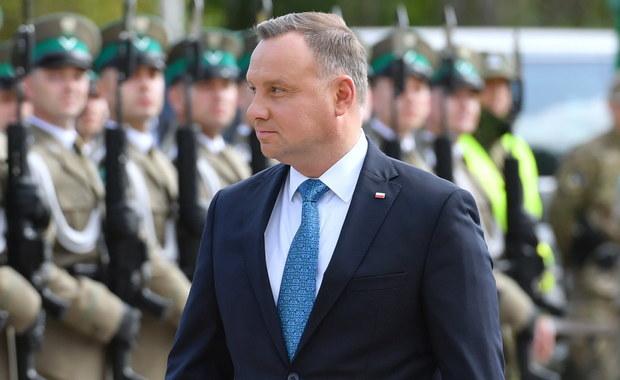 Prezydent Litwy: Andrzej Duda rozważa nałożenie sankcji na Białoruś