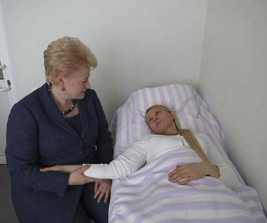 Prezydent Litwy odwiedziła Tymoszenko