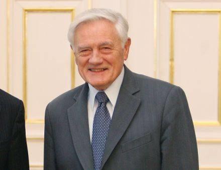 Prezydent Litwy Valdas Adamkus /INTERIA.PL/PAP