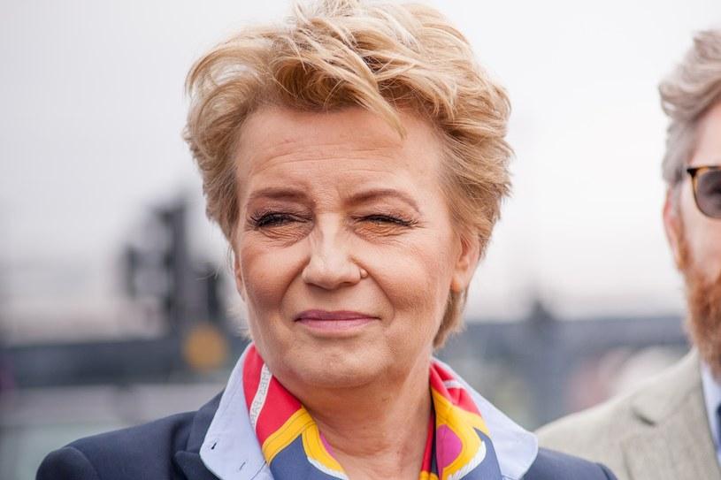 Prezydent Łodzi Hanna Zdanowska /Marcin Jurkiewicz /East News