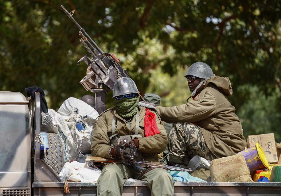 Prezydent Mali Ibrahim Boubacar Keita i premier Boubou Cisse zostali pojmani przez zbuntowanych żołnierzy w stolicy Bamako /NIC BOTHMA /PAP/EPA