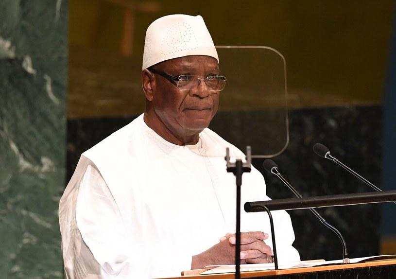 Prezydent Mali Ibrahim Boubacar Keita ogłosił dymisję /AFP