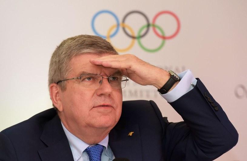 Prezydent MKOl Thomas Bach /AFP