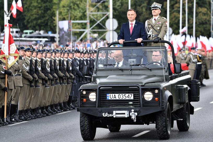 Prezydent na Wielkiej Defiladzie Niepodległości / Jacek Turczyk    /PAP