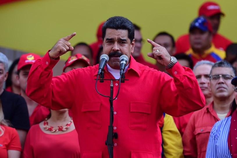 Prezydent Nicolas Maduro /AFP