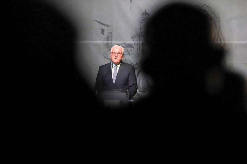 Prezydent Niemiec Frank-Walter Steinmeier w Wieluniu /Tomasz Kudala /Reporter