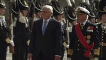 Prezydent Niemiec spotkał się z królem Szwecji